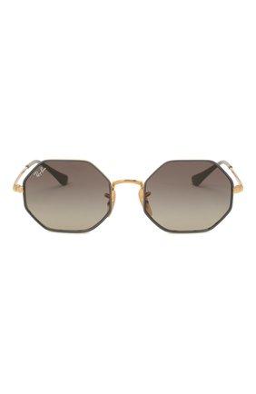Детские солнцезащитные очки RAY-BAN серого цвета, арт. 9549S-285/11 | Фото 2
