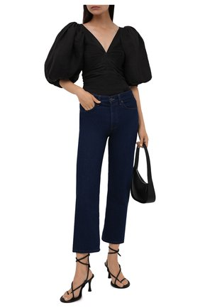 Женские кожаные босоножки PROENZA SCHOULER черного цвета, арт. PS37003A/14000 | Фото 2