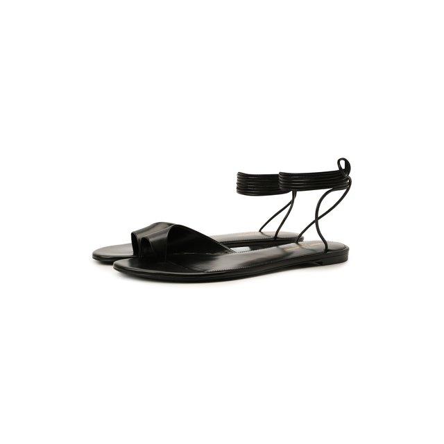 Кожаные сандалии Gia Saint Laurent