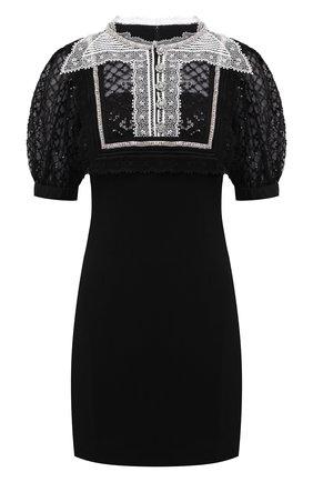 Женское платье SELF-PORTRAIT черного цвета, арт. PF21-038 | Фото 1