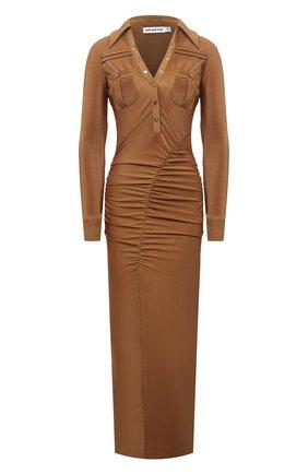 Женское платье SELF-PORTRAIT коричневого цвета, арт. PF21-102 | Фото 1