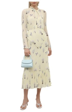Женское платье SELF-PORTRAIT желтого цвета, арт. PF21-110 | Фото 2