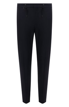 Мужские брюки BOSS темно-синего цвета, арт. 50460671 | Фото 1