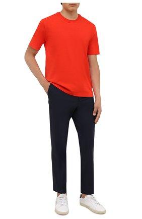 Мужские брюки BOSS темно-синего цвета, арт. 50460671 | Фото 2