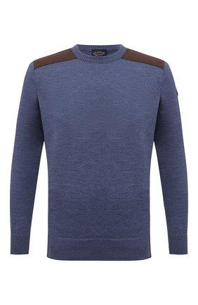 Мужской шерстяной свитер PAUL&SHARK синего цвета, арт. 11311094/FUV | Фото 1