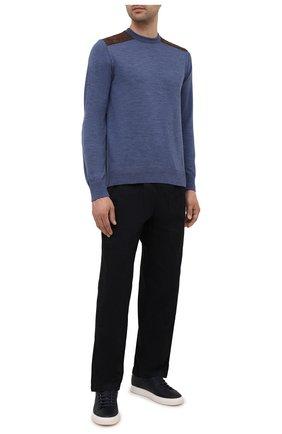 Мужской шерстяной свитер PAUL&SHARK синего цвета, арт. 11311094/FUV | Фото 2