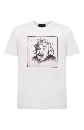 Мужская хлопковая футболка LIMITATO белого цвета, арт. ALBERT/T-SHIRT | Фото 1