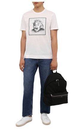 Мужская хлопковая футболка LIMITATO белого цвета, арт. ALBERT/T-SHIRT | Фото 2
