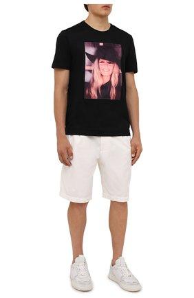 Мужская хлопковая футболка LIMITATO черного цвета, арт. BB2/T-SHIRT | Фото 2 (Материал внешний: Хлопок; Длина (для топов): Стандартные; Рукава: Короткие; Принт: С принтом; Стили: Гранж)