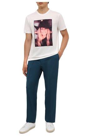Мужская хлопковая футболка LIMITATO белого цвета, арт. BB2/T-SHIRT | Фото 2 (Длина (для топов): Стандартные; Материал внешний: Хлопок; Рукава: Короткие; Стили: Гранж; Принт: С принтом)