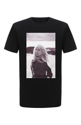 Мужская хлопковая футболка LIMITATO черного цвета, арт. BB3/T-SHIRT | Фото 1 (Рукава: Короткие; Длина (для топов): Стандартные; Материал внешний: Хлопок; Стили: Гранж; Принт: С принтом)
