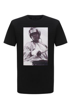 Мужская хлопковая футболка LIMITATO черного цвета, арт. EVER LAST/T-SHIRT | Фото 1 (Материал внешний: Хлопок; Рукава: Короткие; Длина (для топов): Стандартные; Стили: Гранж; Принт: С принтом)