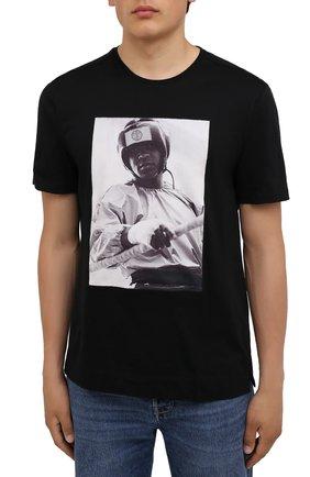 Мужская хлопковая футболка LIMITATO черного цвета, арт. EVER LAST/T-SHIRT | Фото 3 (Рукава: Короткие; Длина (для топов): Стандартные; Стили: Гранж; Принт: С принтом; Материал внешний: Хлопок)