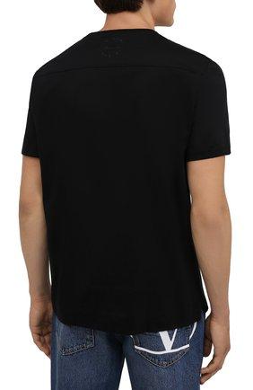 Мужская хлопковая футболка LIMITATO черного цвета, арт. EVER LAST/T-SHIRT | Фото 4 (Рукава: Короткие; Длина (для топов): Стандартные; Стили: Гранж; Принт: С принтом; Материал внешний: Хлопок)