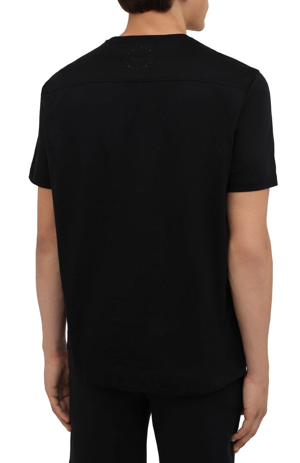 Мужская хлопковая футболка LIMITATO черного цвета, арт. HIT/T-SHIRT | Фото 4 (Рукава: Короткие; Длина (для топов): Стандартные; Стили: Гранж; Принт: С принтом; Материал внешний: Хлопок)
