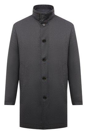 Мужской пальто из шерсти и кашемира KIRED темно-серого цвета, арт. WP0RDW7006001000 | Фото 1