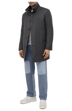 Мужской пальто из шерсти и кашемира KIRED темно-серого цвета, арт. WP0RDW7006001000 | Фото 2