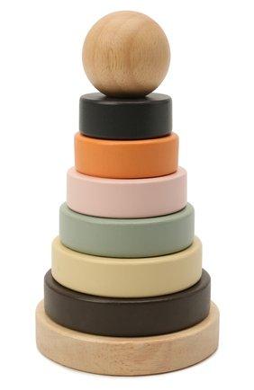 Детского игрушка пирамидка neo KID`S CONCEPT разноцветного цвета, арт. 1000135 | Фото 1