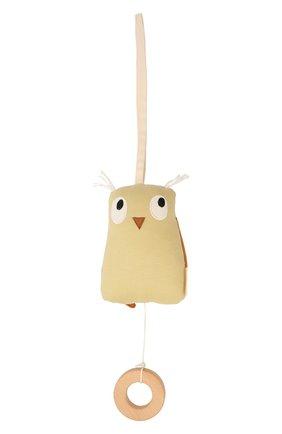 Детского музыкальная игрушка сова edvin KID`S CONCEPT  цвета, арт. 1000562 | Фото 1