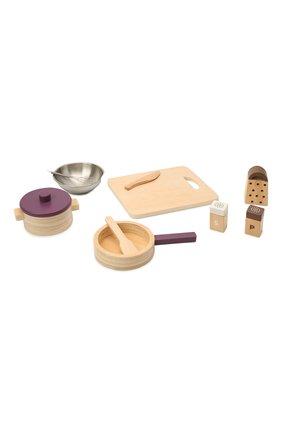 Детского игрушечный кухонный набор посуды bistro KID`S CONCEPT разноцветного цвета, арт. 1000566 | Фото 1