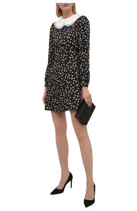 Женское платье из вискозы BOTROIS черного цвета, арт. SKU001124   Фото 2