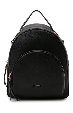 Женский рюкзак lea small COCCINELLE черного цвета, арт. E1 I60 14 01 01   Фото 1