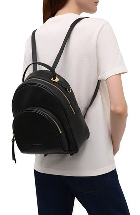 Женский рюкзак lea small COCCINELLE черного цвета, арт. E1 I60 14 01 01   Фото 2