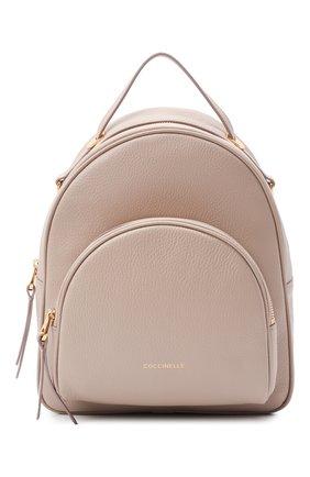 Женский рюкзак lea small COCCINELLE бежевого цвета, арт. E1 I60 14 01 01   Фото 1
