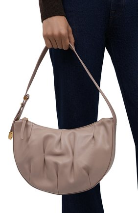 Женская сумка marquise goodie small COCCINELLE бежевого цвета, арт. E1 IC0 13 01 01   Фото 2