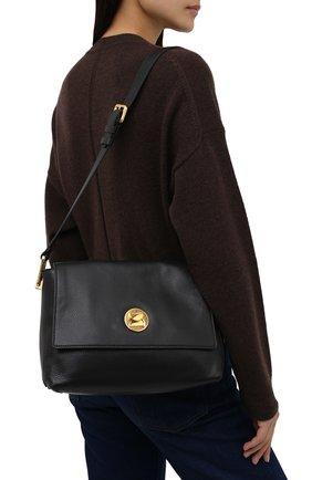 Женская сумка liya COCCINELLE черного цвета, арт. E1 ID0 12 05 01   Фото 2