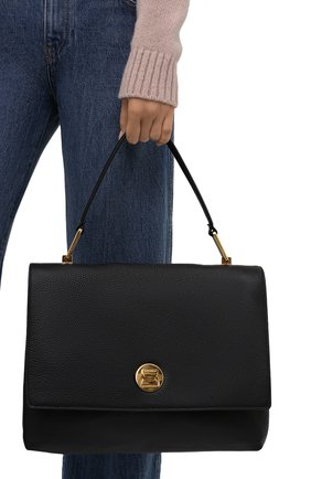 Женская сумка liya COCCINELLE черного цвета, арт. E1 ID0 18 03 01   Фото 2