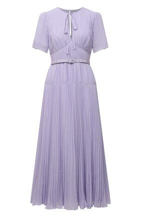 Женское платье SELF-PORTRAIT сиреневого цвета, арт. PF21-060MA | Фото 1