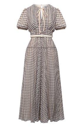 Женское платье SELF-PORTRAIT бежевого цвета, арт. PF21-060MB | Фото 1