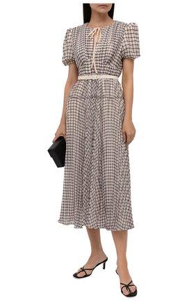 Женское платье SELF-PORTRAIT бежевого цвета, арт. PF21-060MB | Фото 2