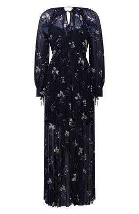 Женское платье SELF-PORTRAIT темно-синего цвета, арт. PF21-062A | Фото 1