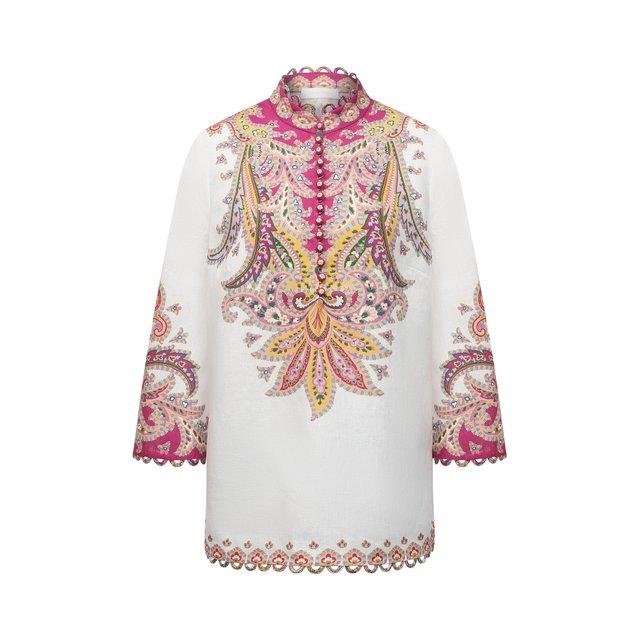 Льняная рубашка Zimmermann