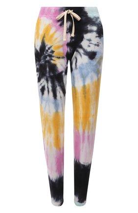 Женские хлопковые джоггеры ELECTRIC&ROSE разноцветного цвета, арт. LFBT08-VIBE | Фото 1 (Материал внешний: Хлопок; Длина (брюки, джинсы): Стандартные; Стили: Спорт-шик; Женское Кросс-КТ: Джоггеры - брюки, Брюки-спорт; Силуэт Ж (брюки и джинсы): Джоггеры)