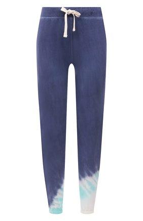 Женские хлопковые джоггеры ELECTRIC&ROSE разноцветного цвета, арт. LFBT08-ECH0 | Фото 1 (Длина (брюки, джинсы): Стандартные; Материал внешний: Хлопок; Стили: Спорт-шик; Женское Кросс-КТ: Джоггеры - брюки, Брюки-спорт; Силуэт Ж (брюки и джинсы): Джоггеры)