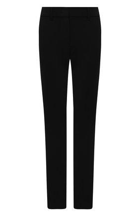Женские шерстяные брюки EMPORIO ARMANI черного цвета, арт. 0NP08T/02002   Фото 1