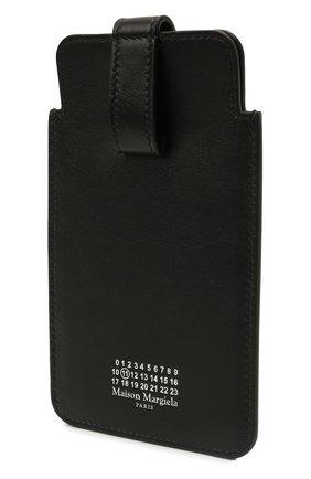 Кожаный кошелек MAISON MARGIELA черного цвета, арт. S56UI0211/P4303   Фото 2