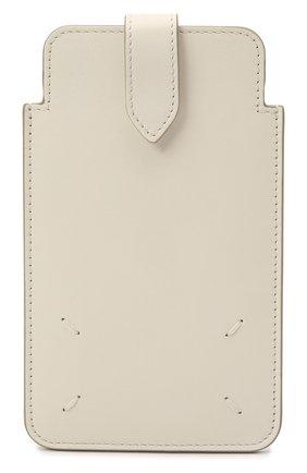 Кожаный кошелек MAISON MARGIELA белого цвета, арт. S56UI0211/P4303   Фото 1