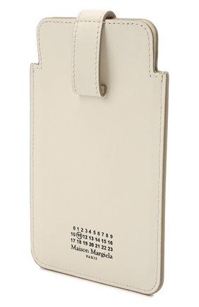 Кожаный кошелек MAISON MARGIELA белого цвета, арт. S56UI0211/P4303   Фото 2