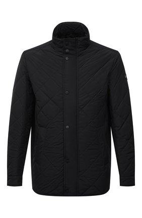 Мужская утепленная куртка PAUL&SHARK черного цвета, арт. 11312004/DF | Фото 1