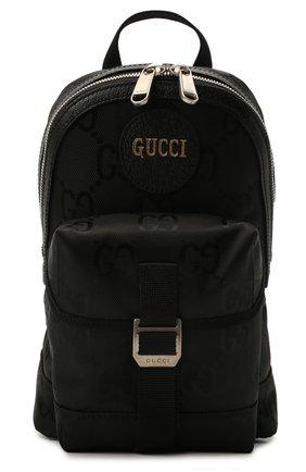 Мужской текстильный рюкзак off the grid GUCCI черного цвета, арт. 658631/H9HUN | Фото 1