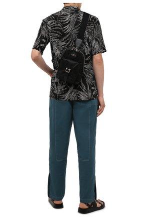 Мужской текстильный рюкзак off the grid GUCCI черного цвета, арт. 658631/H9HUN | Фото 2