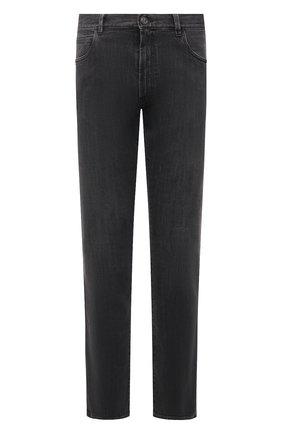 Мужские джинсы GIORGIO ARMANI темно-синего цвета, арт. 6KSJ15/SD1AZ | Фото 1 (Материал внешний: Хлопок; Длина (брюки, джинсы): Стандартные; Силуэт М (брюки): Прямые; Стили: Кэжуэл; Кросс-КТ: Деним)