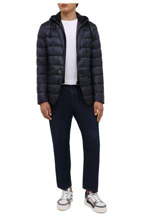 Мужская пуховая куртка HERNO темно-синего цвета, арт. PI077UR/12020 | Фото 2