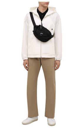 Мужская текстильная поясная сумка C.P. COMPANY черного цвета, арт. 11CMAC112A-005269G | Фото 2