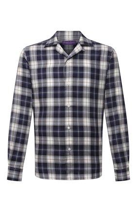 Мужская рубашка RALPH LAUREN темно-синего цвета, арт. 790846634 | Фото 1