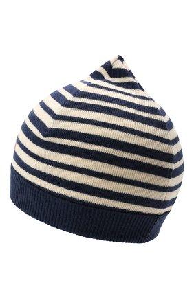 Детского шерстяная шапка GUCCI синего цвета, арт. 658497/3K206 | Фото 2
